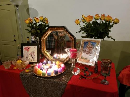 Freya altar 2019