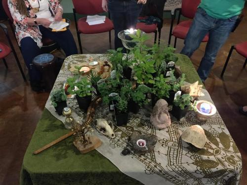 Earth Day 2019 altar