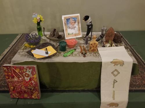 May Day 2019 altar