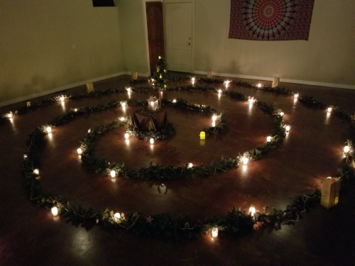 Yule labyrinth 2017